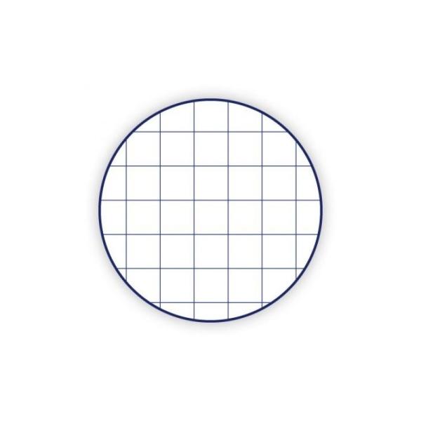 Feuille bristol 205g 50x65 quadrillé 5x5 blanc - Photo n°2