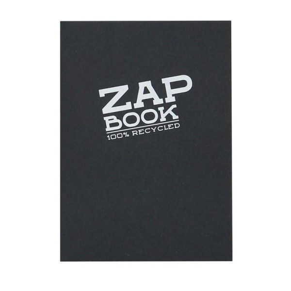Zap book colle noir A6 80g 160f - Photo n°1