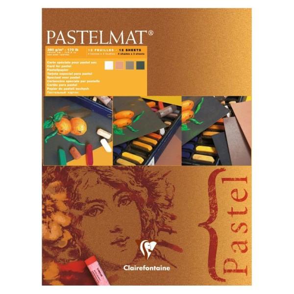 Bloc pastel pastelmat 360g 18x24 cm - Photo n°1