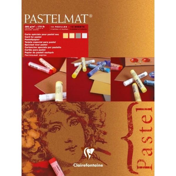 Bloc pastel pastelmat n°5 360g 18x24 cm - Photo n°1