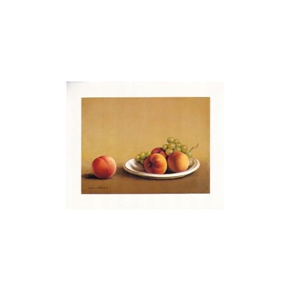 Image 3D - pompeya 41 - 24x30 - peche et raisin - Photo n°1
