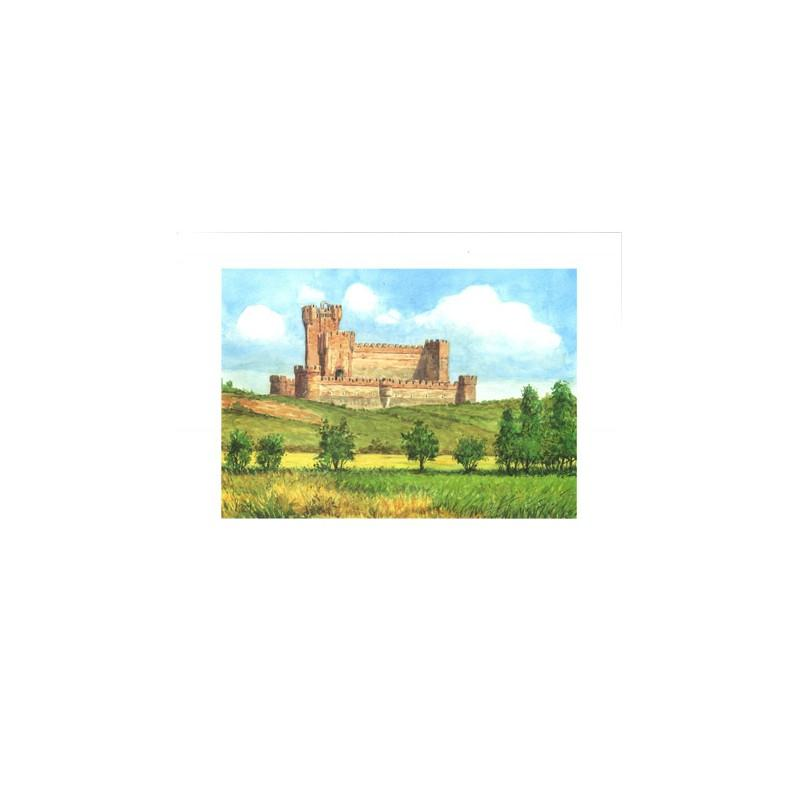 Image 3D - astro 535 - 24x30 - château dans la vallée - Photo n°1