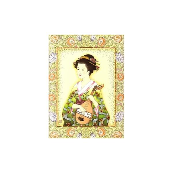 Image 3D - or 56 - 24x30 - chinoise avec mandoline - Photo n°1