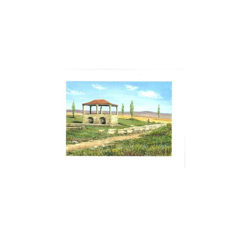 Image 3D - astro 533- 24x30 - moutons à la campagne - Photo n°1