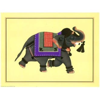 Image 3d - or 21- 24x30 - elephant oriental