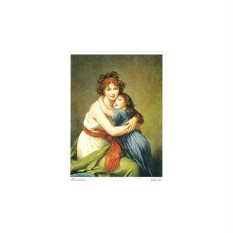 Image 3d - augusta 002- 18x24 - la mere et enfant