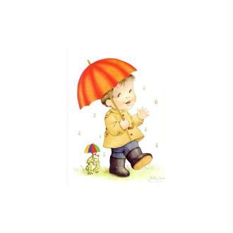 Image 3D - pompeya 62 - 24x30 - garcon ss la pluie