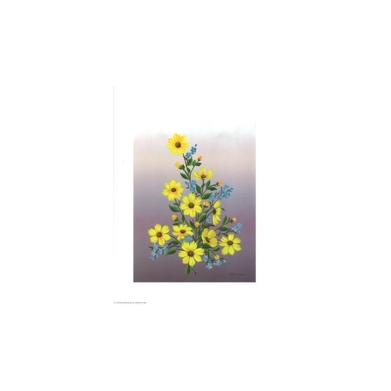 Image 3D - astro 248 - 24x30 - petites fleurs jaunes - Photo n°1