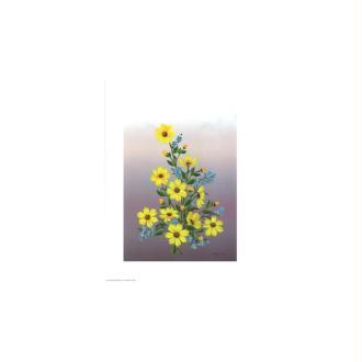 Image 3d - astro 248 - 24x30 - petites fleurs jaunes