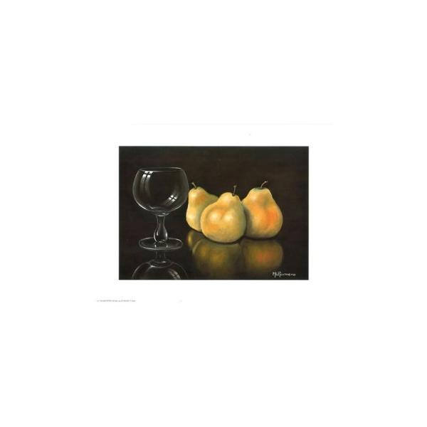 Image 3D - astro 345 - 24x30 - poires et verre - Photo n°1