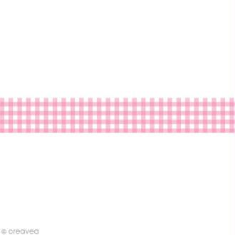 Masking tape Toga - Vichy rose x 10 m
