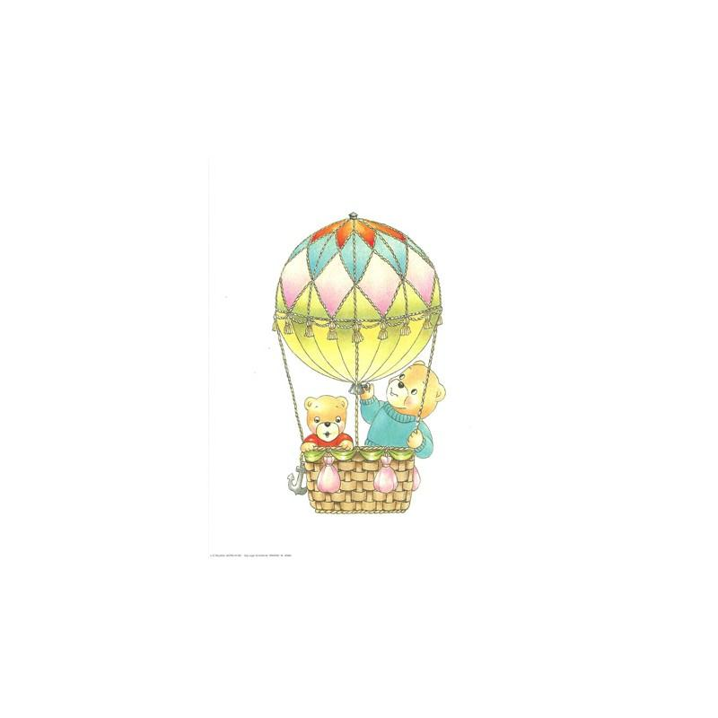 Image 3d - astro 383 - 24x30 - ours montgolfière - Photo n°1