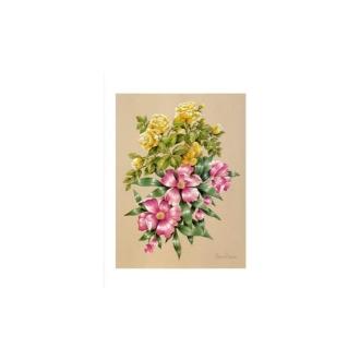 Image 3d - astro 506 - 24x30 - bouquet rose et jaune