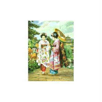 Image 3d - 800843 - 20x25 - chinoises et bouquet