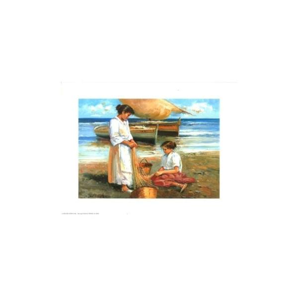 Image 3D - astro 405 - 24x30 - femme a la mer - Photo n°1