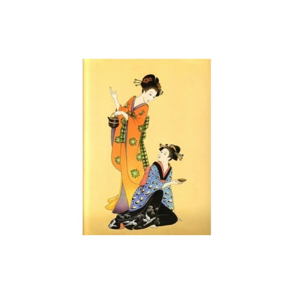 Image 3D - or 31 - 24x30 - chinoise assise et debout - Photo n°1