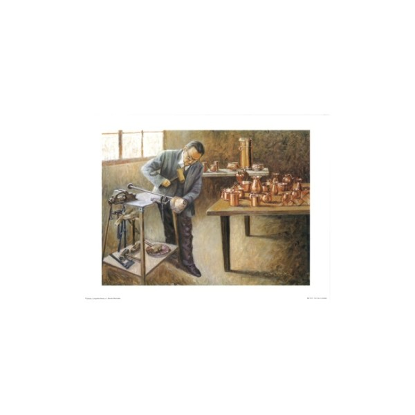 Image 3D - e23 - 24x30 - travail du cuivre - Photo n°1
