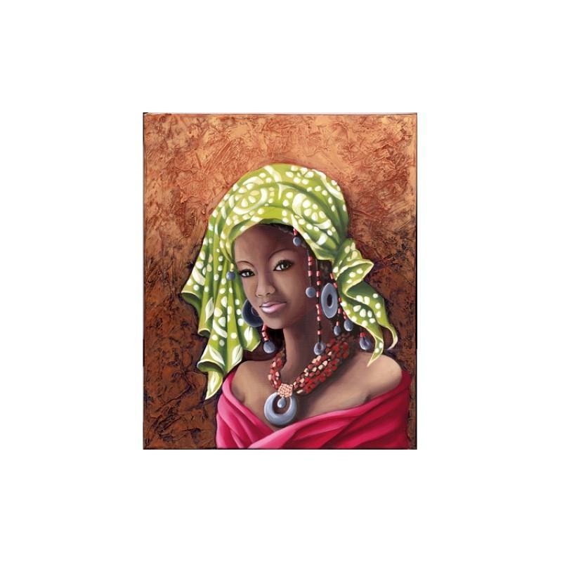 Image 3D - gk3040049 - 30x40 - africaine fuchsia - Photo n°1
