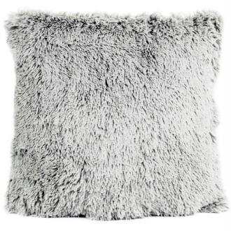 Coussin thro chubby gris clair 50x50 cm