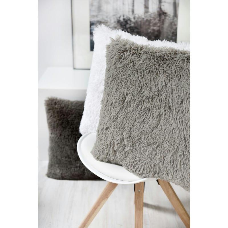 coussin thro chubby gris 50x50 cm coussins pour fauteuils et canap s creavea. Black Bedroom Furniture Sets. Home Design Ideas
