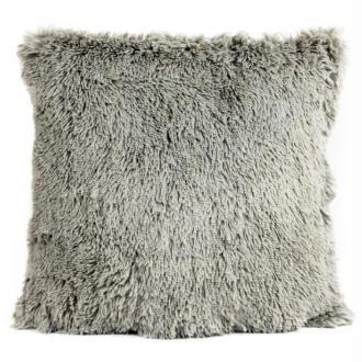 Coussin thro chubby gris 50x50 cm