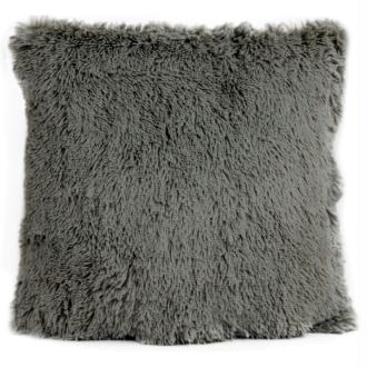 Coussin thro chubby gris foncé 50x50 cm