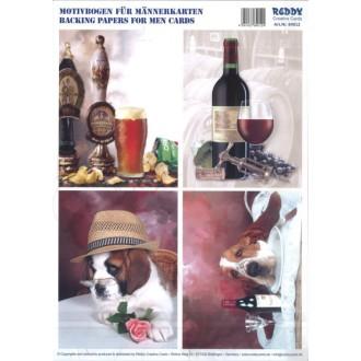 Carte 3d prédéc. - a4 - 84012 - recto/verso vin