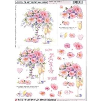 Carte 3d prédéc. - a4 - dcd647 - vase et coupes