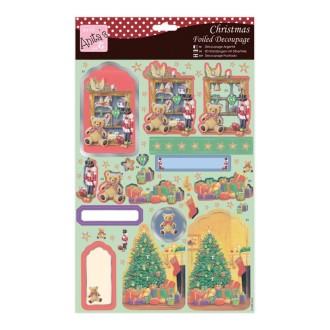 Carte 3D prédéc. - noël A4 - 169579 - jouets