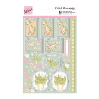Carte 3D prédéc. - fleurs orientales