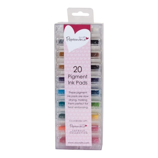 Assortiment mini-encreurs à pigment 20p - Photo n°1