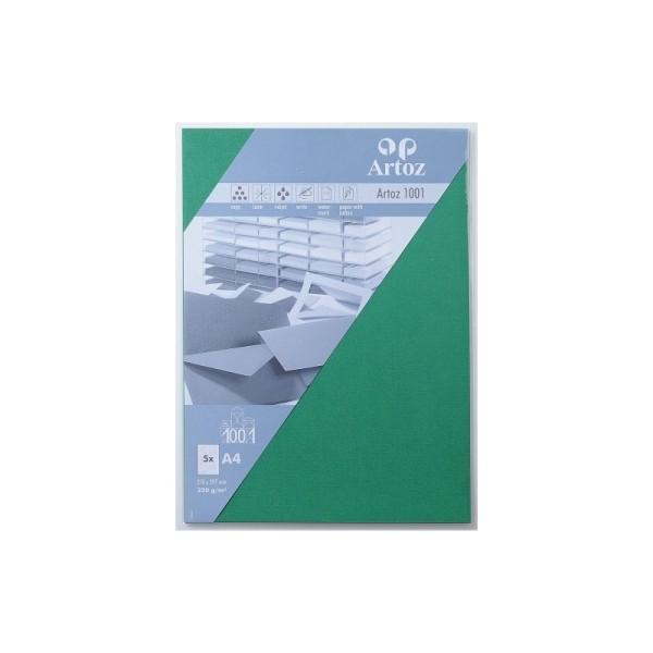 Papier A4 220g - vert sapin - Photo n°1