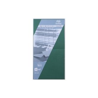 Carte 310x155 220g paquet de 5 racing gren