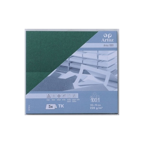 Carte porte nom 100x90 paquet de 5 - racing gre - Photo n°1