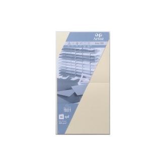 Carte 310x155 220g paquet de 5 vert boulea