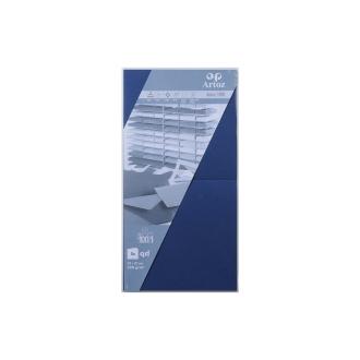 Carte 310x155 220g classic blue paquet de 5