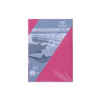 Enveloppe C5 229x162 paquet de 5 - fuchsia