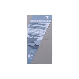 Carte 310x155 220g paquet de 5 graphite