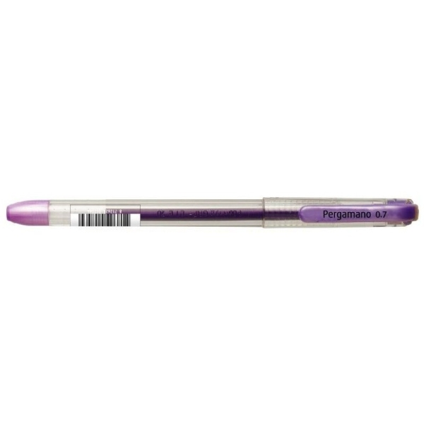 Stylo gel violet - Photo n°1