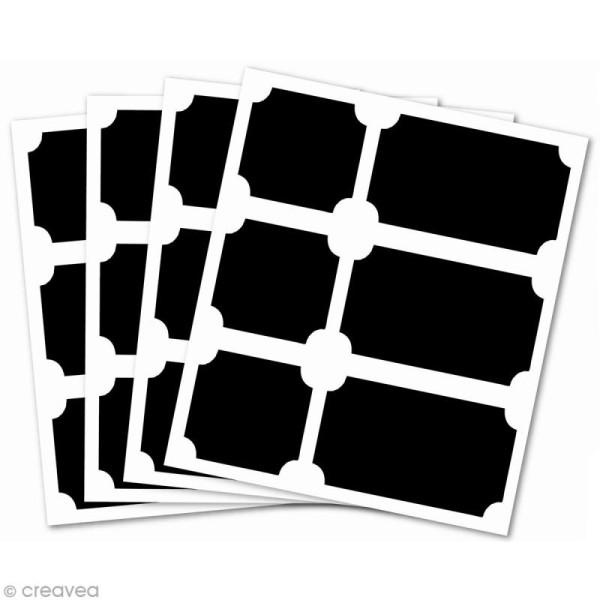 Stickers ardoise - Etiquettes x 24 - Photo n°2