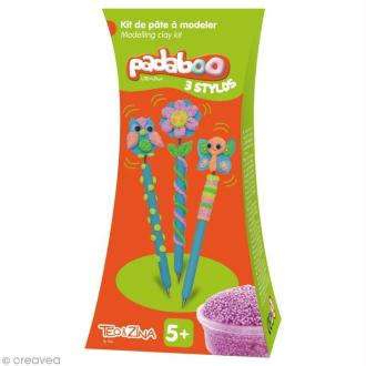 Kit de pâte à modeler Padaboo - 3 stylos