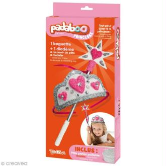 Kit de pâte à modeler Padaboo - Baguette et diadème