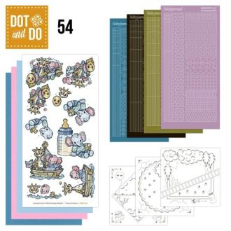 Dot and do 054 - kit carte 3d - baby