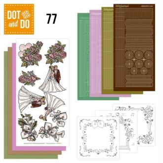 Dot and do 077 - kit carte 3d - mariage