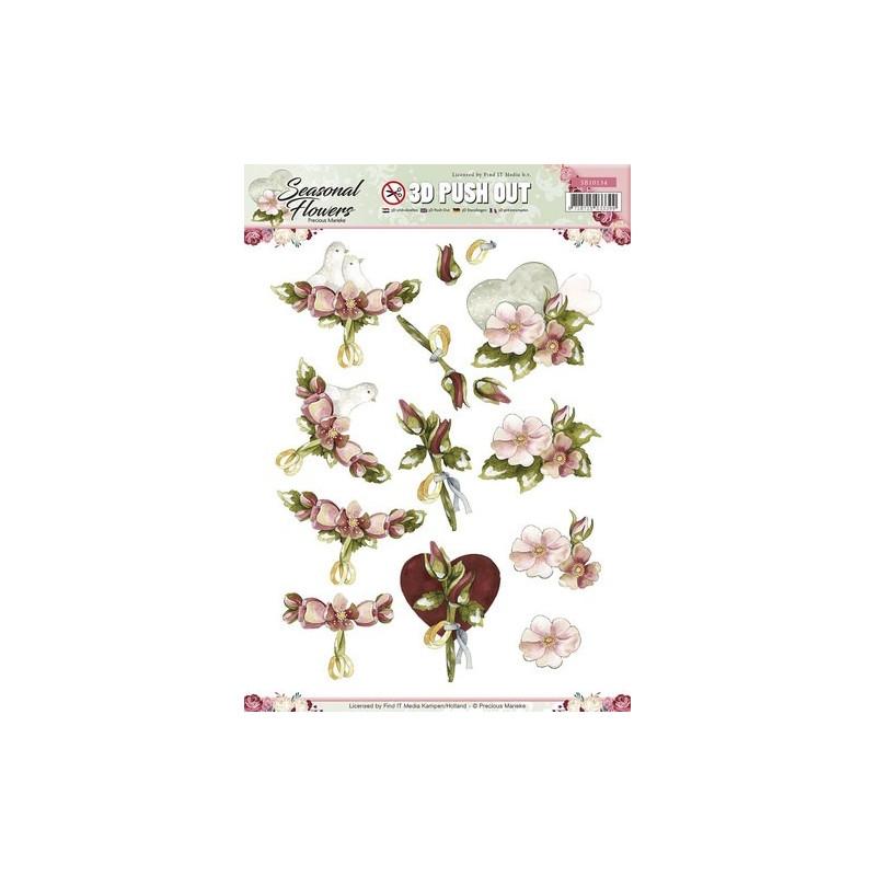 Carte 3d pr d c precious marieke mariage carte 3d for Boutique article cuisine