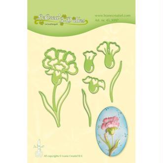 Die - leane creatif - fleurs 9.5 x 4.5 cm