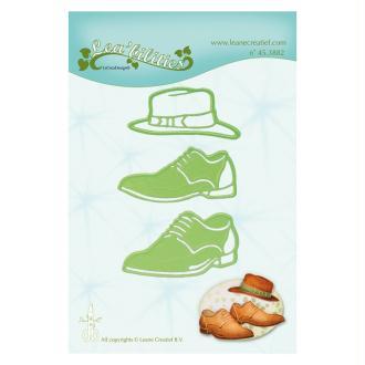 Die - leane creatif - chapeau et chaussures 5.7 x 2.5 cm