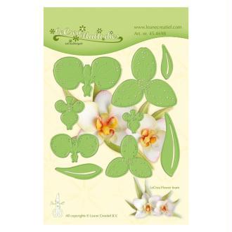 Die - leane creatif - orchidée 5 x 5.5 cm