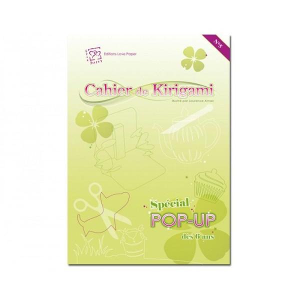 Cahier de kirigami n° 5 - pop up - Photo n°1