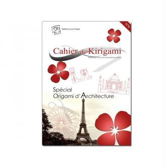 Cahier de kirigami n° 6 - architecture
